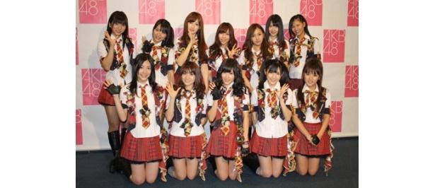 横浜アリーナでコンサートを開催したAKB48