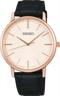 「SEIKO Boutique」の「セイコー ゴールドフェザー デザイン 復刻モデル SCXP076」(税抜2万2000円) ※GINZA SIX限定(刻印サービス)