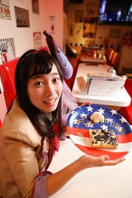 「アメリカンなお皿もかわいいね」