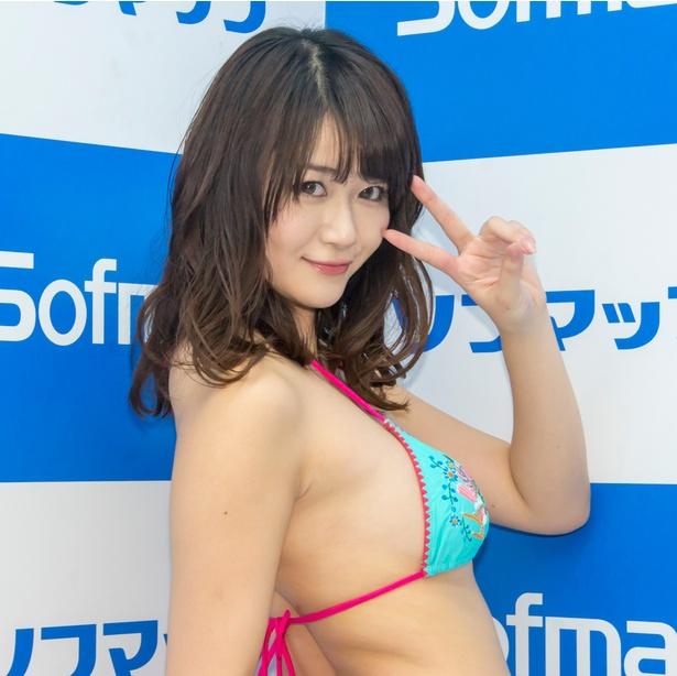 神宮寺かなんDVD&Blu-ray「ミルキー・グラマー」発売イベントより