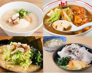 いつものラーメンも麺を豆腐や肉に変更すれば、たちまちダイエットメニューに