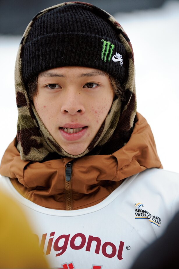 【写真を見る】前回大会銀の平野歩夢。今回は金メダル獲得を目指す