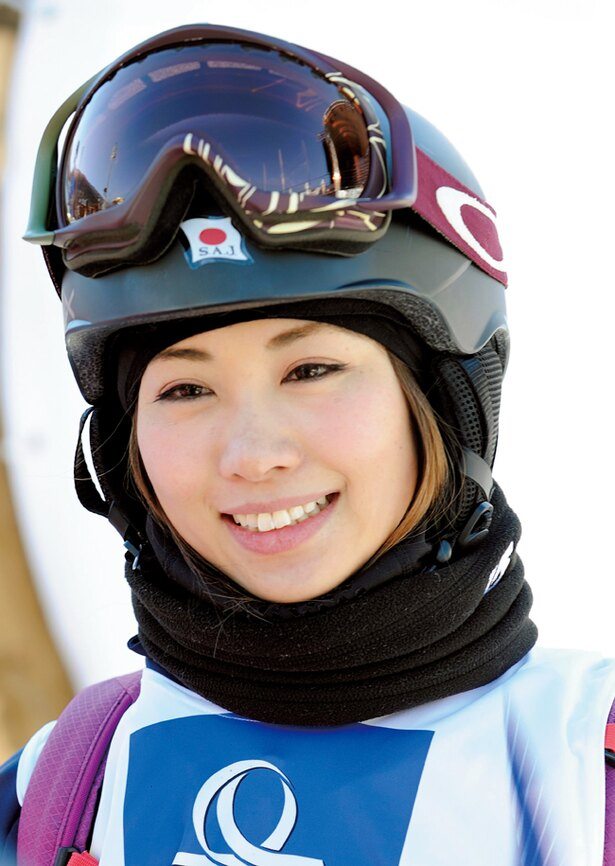 その美貌にも注目の藤森由香は、4度目のオリンピック出場となる
