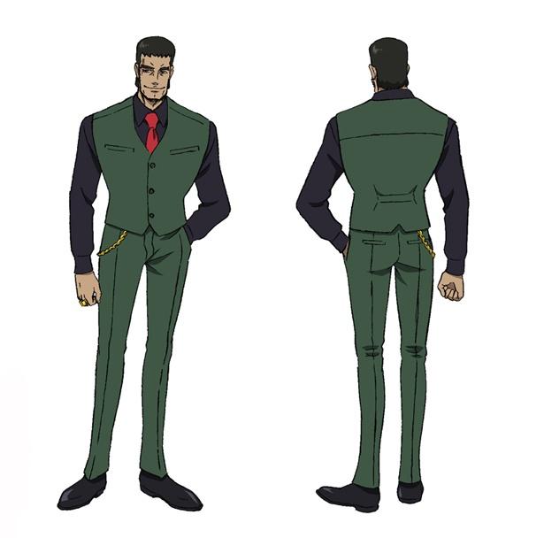 藤巻(CV:木下浩之)は、地下の賭けメガロボクスを取り仕切る男で、借金を返せなくなった者に対して非道なやり方で落とし前をつける