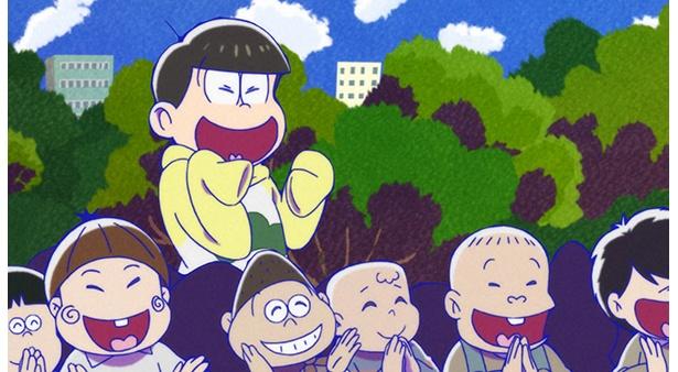 「おそ松さん 第2期」第19話の先行カットが到着。バレンタインデーをどのようにして乗り切るか!?