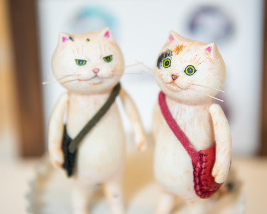「どやねこ展」でドヤ顔のかわいらしいネコたちが大集合!【写真特集】