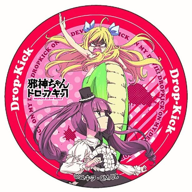 「AnimeJapan2018」のBSフジブースで販売されるデザイン缶バッジ