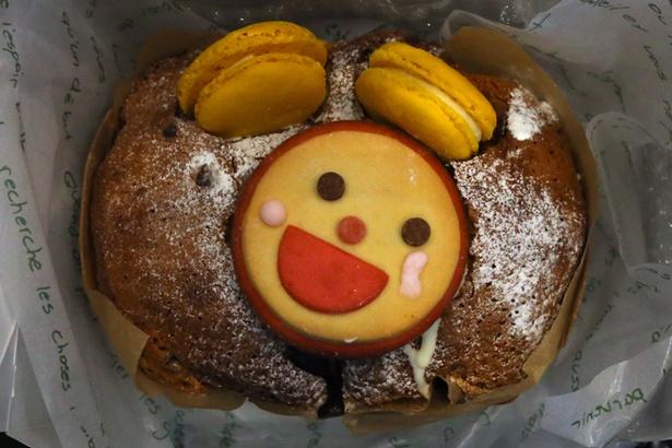 会場には「めざましくん チョコバナナブレッド〈1,000円〉」などフジテレビの番組などとコラボしたパンも登場する