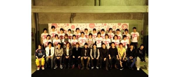 「JUNON BOY FESTIVAL 2010」には計34人のジュノンボーイが出席した