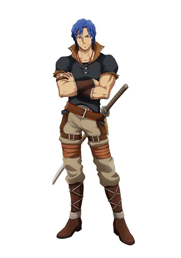 天性の才能を持つ王国でも有数の剣士・ブレイン(CV:遊佐浩二)は、王国では珍しい刀の使い手