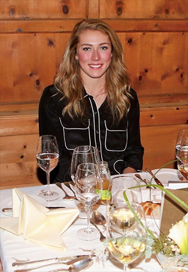 スキー回転女王ミカエラ・シフリンは料理マスター