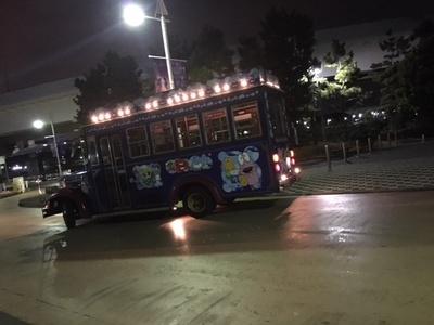 最後の最後に、周遊バスがあってとても助かった