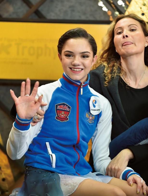 フィギュアスケート女王、エフゲニア・メドベージェワ