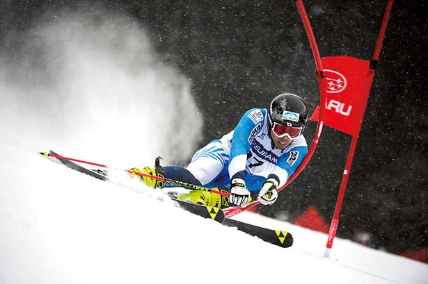 スキーアルペンの石井智也は怪我に悩まされながらも五輪の切符を手にした