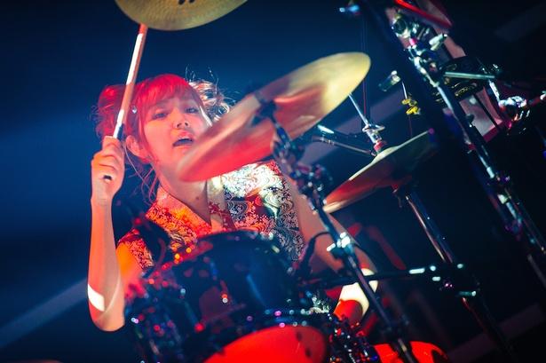 ひなんちゅ(SILENT SIREN / Drums)
