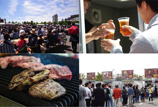 GWの風物詩となった「肉フェス」が、今年は3都市で同時開催される