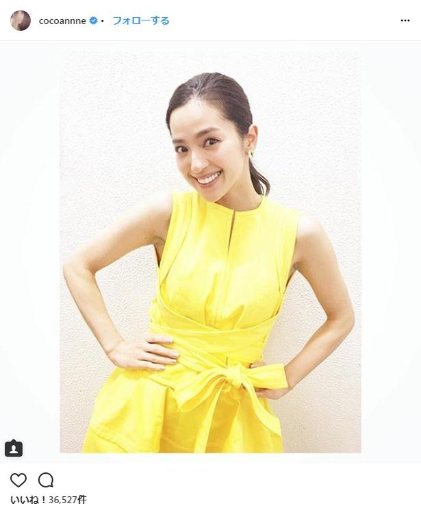 【写真を見る】「美ボディ」を持つ健康的な女性として大注目の中村アン