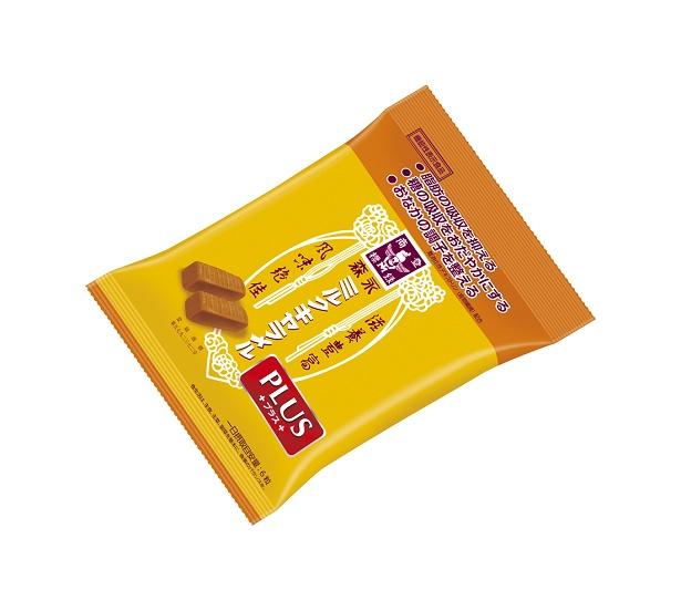 森永製菓より脂肪や糖が気になる人でも楽しめる機能性表示食品「ミルクキャラメルプラス」が発売する
