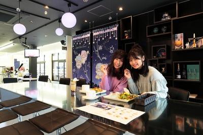 キキ&ララのコンセプトカフェには、キュートなメニューがいっぱい!