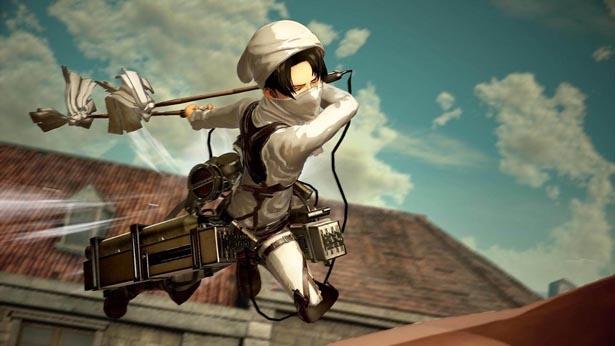 ゲーム「進撃の巨人2」の最新情報が公開!掃除衣装のリヴァイも登場!