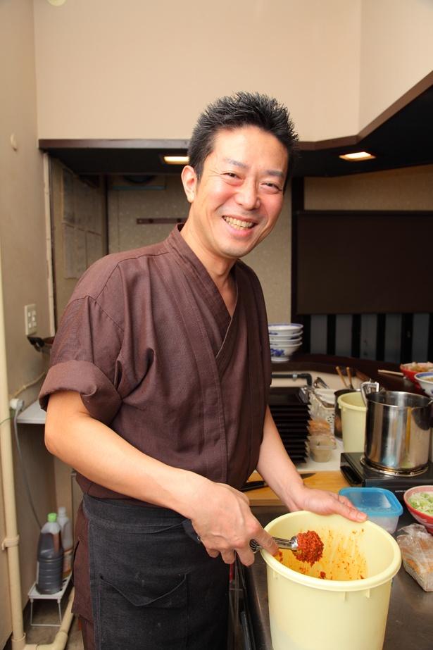 山形の有名店で修業を積んだ、「ふくろう」本店店主の佐藤智雄さん