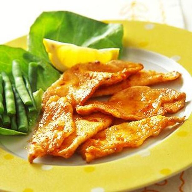 【関連レシピ】豚肉のソテーレモン風味