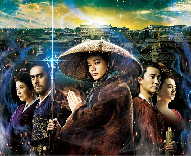日中合作映画『空海―KU-KAI―美しき王妃の謎』は2月24日(土)全国ロードショー