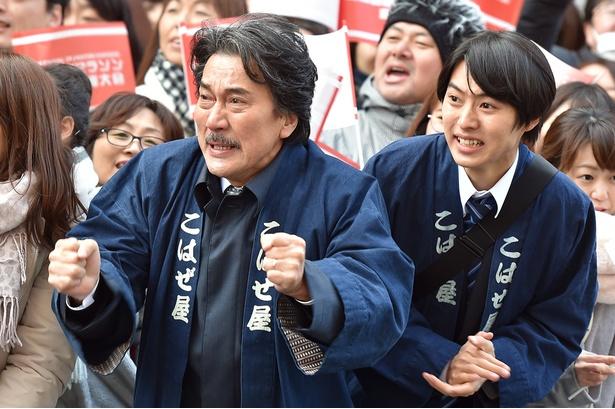 【写真を見る】役所は、こはぜ屋を立て直そうとする熱い男・宮沢を好演した