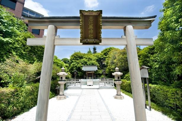 恵比寿ガーデンプレイス内にある恵比寿神社