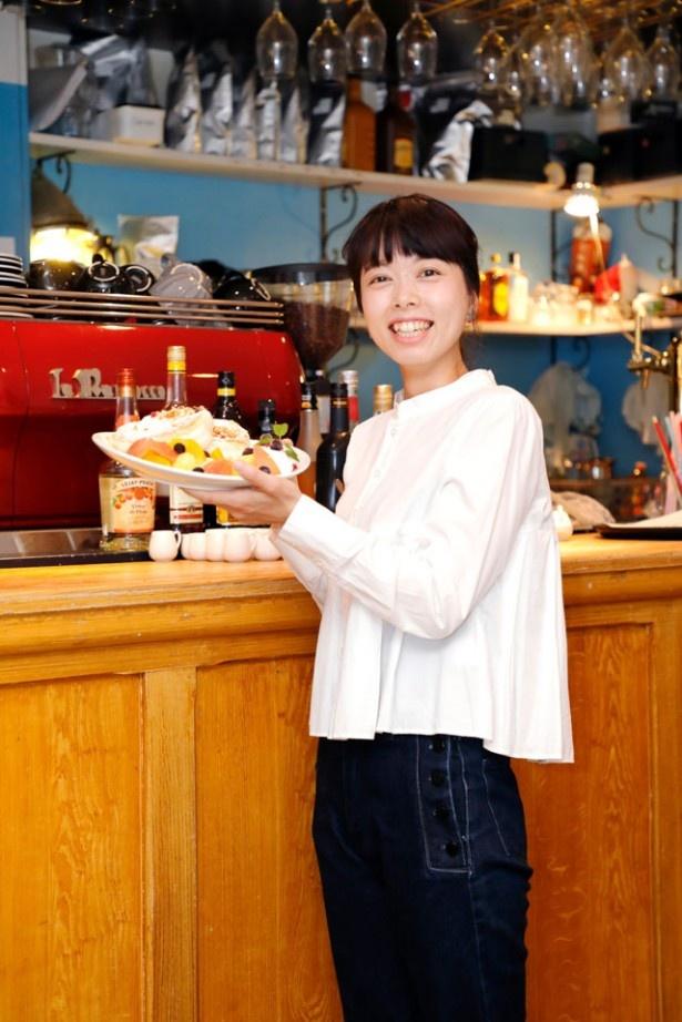 美人店長の筒井美幸さん。働くスタッフもおしゃれ