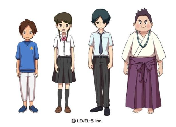 ケースケ、ナツメ、トウマ、アキノリ(写真左から)