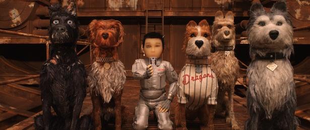 日本が舞台のウェス・アンダーソン最新作『犬ヶ島』(5月公開)