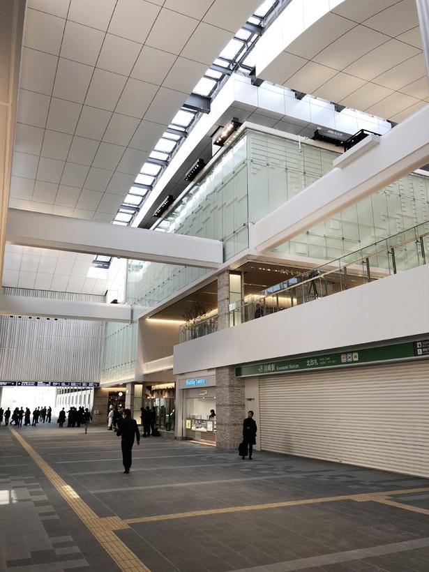 JR川崎駅北口通路も2018年2月17日(土)に開通する