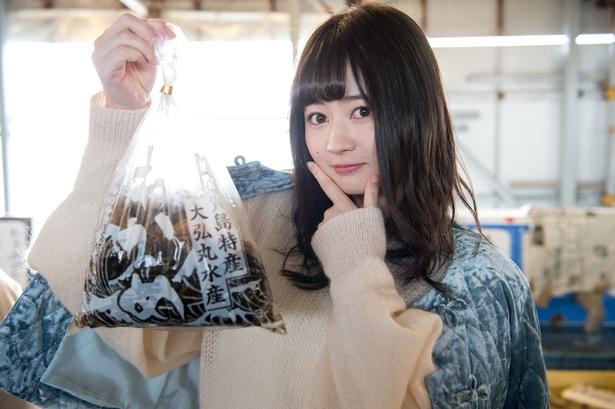 生ワカメ(1袋500円)とえごちゃん