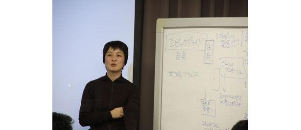 講師の紫牟田さんもプレゼンを大絶賛