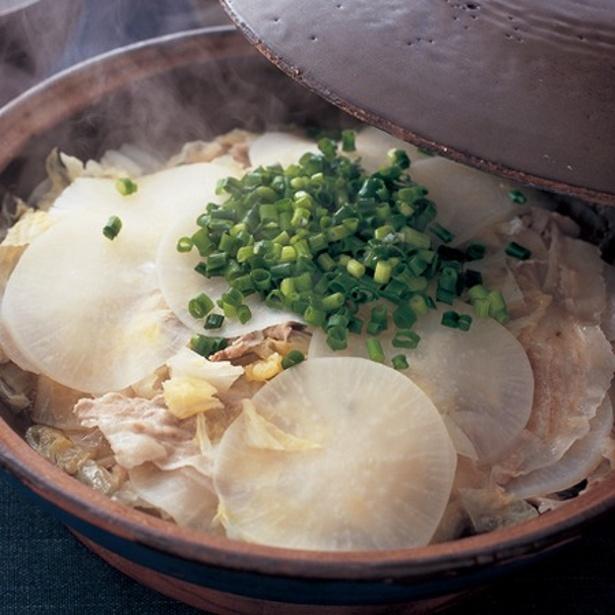 「豚バラ蒸し鍋」