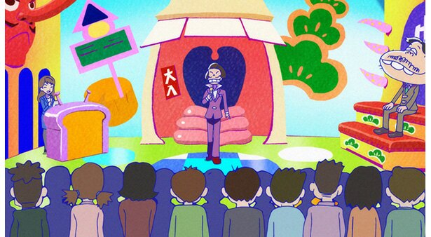 「おそ松さん 第2期」第20話の先行カットが到着。こぼれ話集の第2弾を放送!