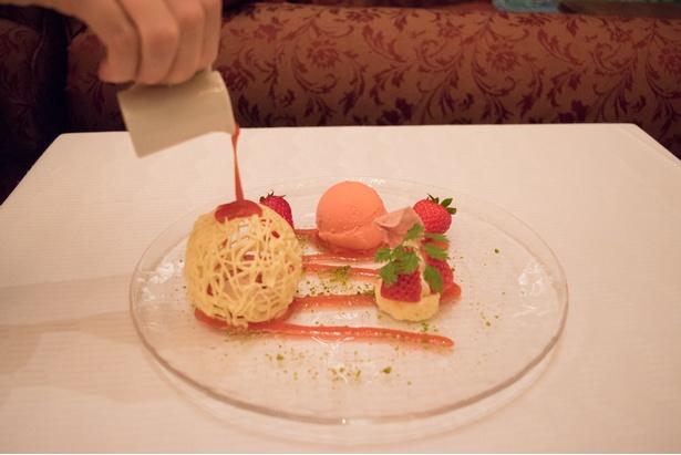 紅ほっぺのメルティングデザート