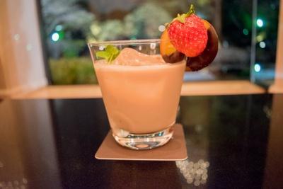ストロベリーチョコレートミルク