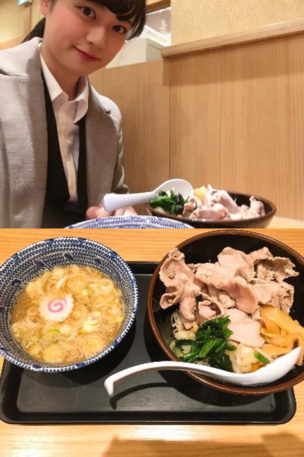 スープまでしっかり味わいたい「舎鈴」のつけ肉
