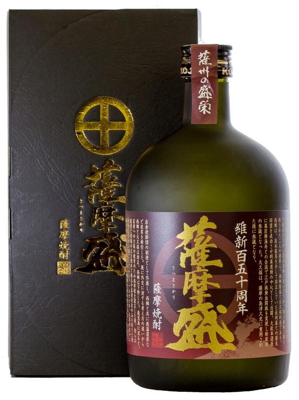「小鹿酒造」(鹿児島)の「薩摩盛」(300ml 740円、720ml 1814円)