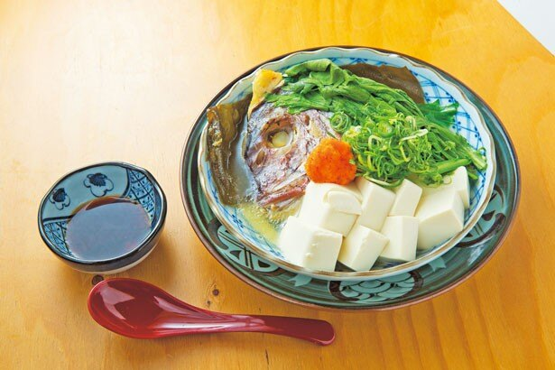 「鯛とうふ蒸し」(626円)/魚屋スタンドふじ子