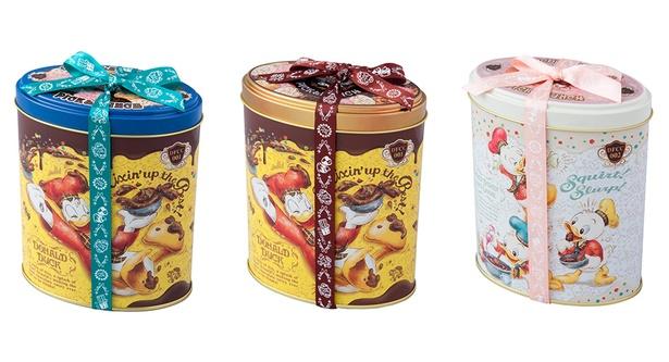好きな缶にお好みのチョコクランチを自由に詰められる「チョコレートクランチ・ピック&マンチ」(1500円) の完成イメージ