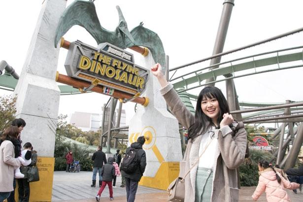 まずは対象アトラクションを調べ、お目当てのアトラクションの入口へ/ユニバーサル・スタジオ・ジャパン