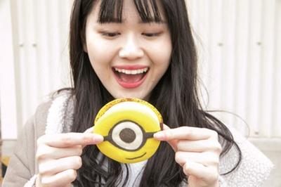 「ミニオン・クッキーサンド」(500円から)/デリシャス・ミー!ザ・クッキー・キッチン