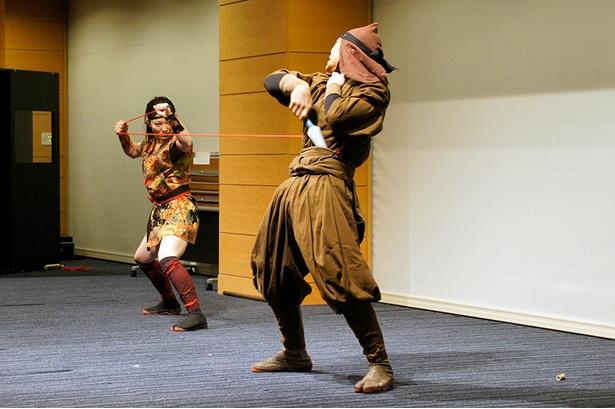 設立総会後には伊賀忍者特殊軍団「阿修羅」による演舞も行われた