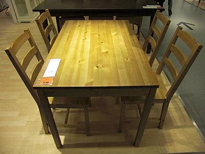 オープン限定!テーブル&チェア4脚が9900円(限定200、IKEA FAMILYメンバー対象)