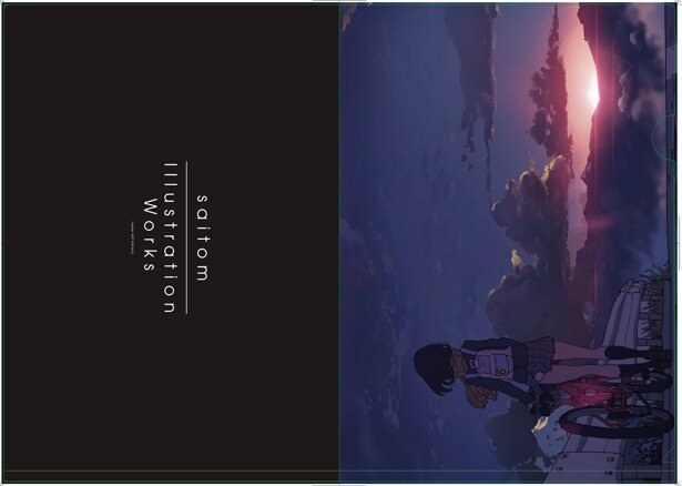 人気イラストレーター・saitom、初画集の店舗別特典が公開に!