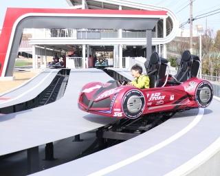 """世界初!自分で""""操縦できる""""バトルコースターが鈴鹿サーキットに登場"""