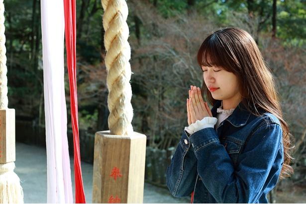 仁比山神社で運気アップをお願い!